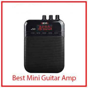 5) AROMA Mini Portable 5W Guitar Amp/Amplifier