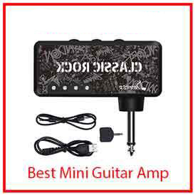9) Donner Classic Rock Pocket Mini Guitar Headphone Amp Amplifier