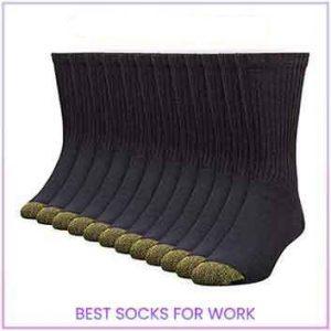Gold Toe Men's Cotton Crew Athletic Sock | Best Socks for Work 2021