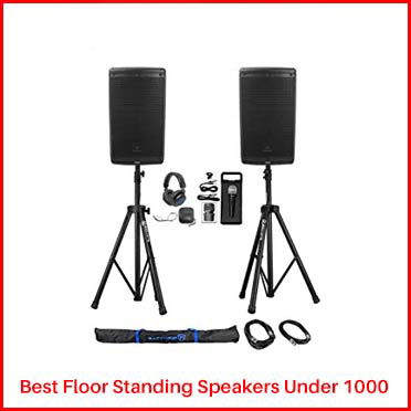 JBL EON610 floor Standing Speakers Under 1000