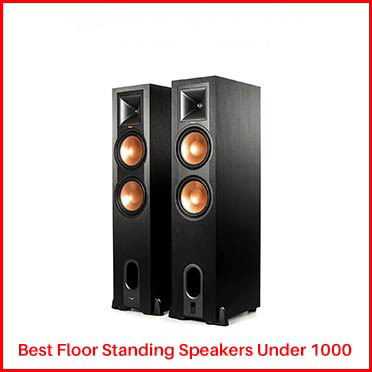 Klipsch R-28PF Floor Standing Speakers Under 1000