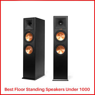 Klipsch RP-280F Floor Standing Speakers Under 1000