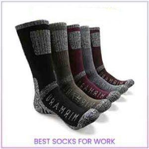 Carhartt Men's All-Terrain Boot Socks | Best Socks for Work 2021