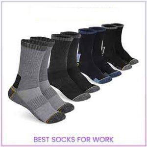 Pembrook All Season Crew Boot Socks | Best Socks for Work 2021