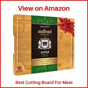 Royal Craft Wood Bamboo Cutting Board