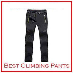 Susclude Men's Outdoor Winter climbing Pants