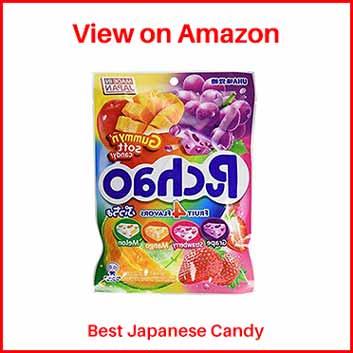 UHA Mikakuto Puchao Japanese Candy