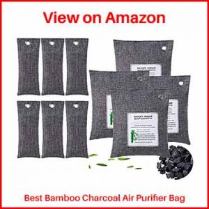 KEEOU 10packs Bamboo Charcoal Air Purifier Bags