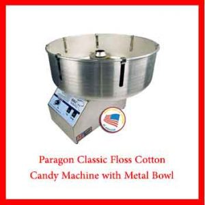 Paragon Classic Floss Cotton Candy Machines
