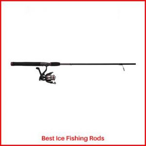 Shakespeare Ugly Stik Reel & Rod Combo Ice Fishing Rods