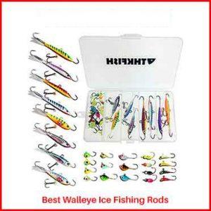 THKFISH Ice Fishing Jigs
