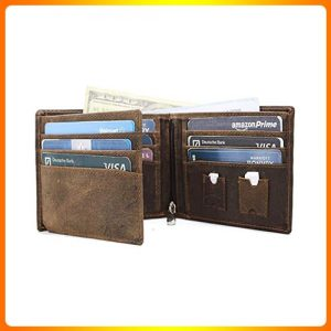Billfold-ID-Window-Flap-&-RFID--Birch-Leathers-handmade