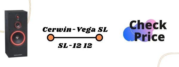 Cerwin-Vega SL-12 12 Floor Standing Speakers Under 500