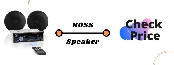 BOSS Audio Systems 638BCK Bluetooth Speaker for Car
