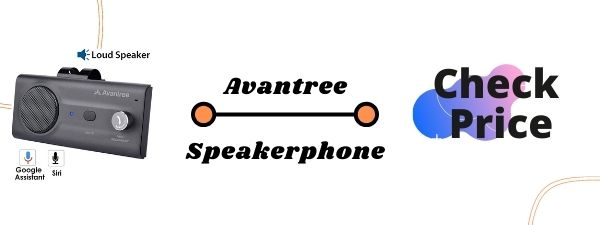 Avantree CK11 Hands Free Bluetooth Speaker for Car