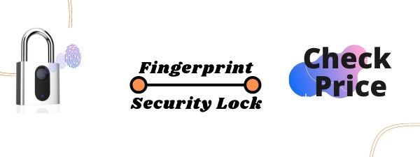 THUMBPRINT SMART SECURITY LOCK WITH USB RECHARGE