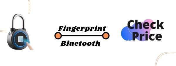 FINGERPRINT PADLOCK, BLUETOOTH CONNECTION