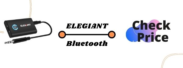 ELEGIANT 2-in-1 Bluetooth Transmitter for tv