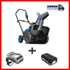 Cordless Single Stage Snow Blower Kit-Snow Joe iON15SB-LT 40-Volt iONMAX