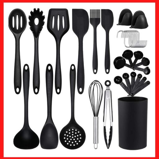 Godmorn 35 Pcs Kitchen Utensils<br />