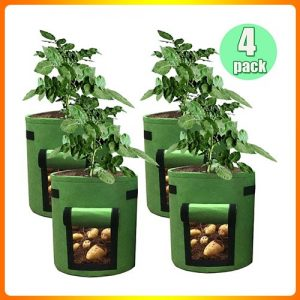HAHOME-4-Pack-7-Gallon-Potato-Grow-Bag