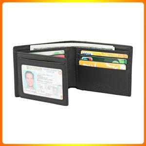 Men's-Wallet--GDTK-Leather-Vintage-Trifold-Wallet
