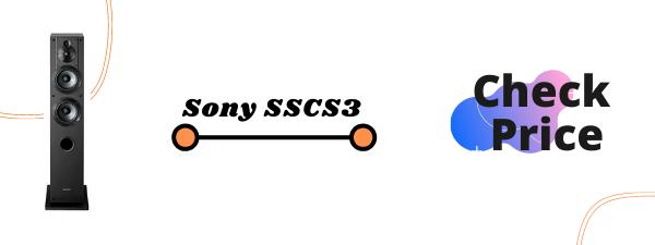 Sony SSCS3 Floor Standing Speakers Under 500