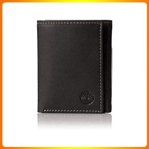 Trifold-with-Id-Window-Timberland-Men's-Leather-Wallet