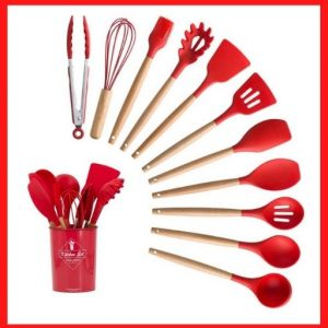 UniForU Silicone Cooking Utensils