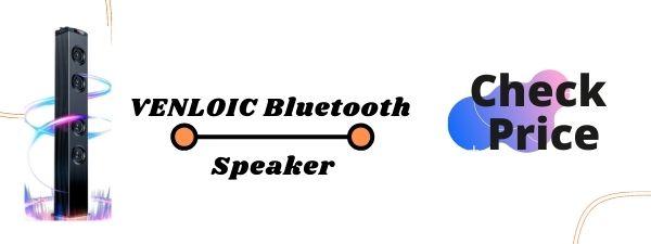 VENLOIC Floor Standing Speakers Under 500