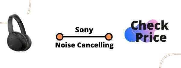 Sony Noise Cancelling Headphones-WHCH710N