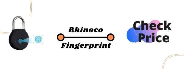 RHINO CO FINGERPRINT PADLOCK