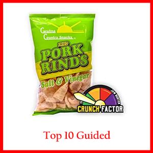 Carolina Country Snacks Salt & Vinegar Pork Rinds