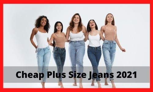 Cheap Plus Size Jeans 2021