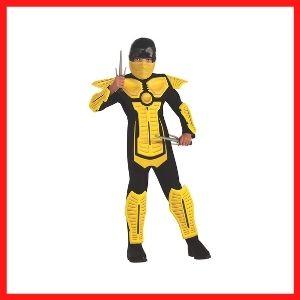 Child's Yellow Ninja Costume