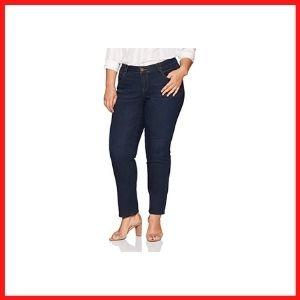 Democracy Women's Plus Size Straight Leg Jean
