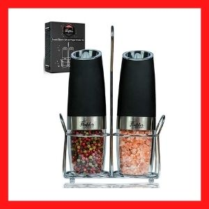 FLAFSTER KITCHEN Electric Salt and Pepper Grinder