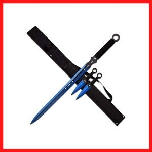 Fantasy Sword & Two Throwing Knives