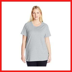 JUST MY SIZE Women's cheap Plus-Size Shirt