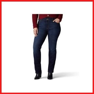 Lee Women's Plus Size Straight Leg Jean