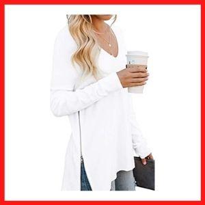 PrinStory Women's Causal Soft Raglan Sweatshirts