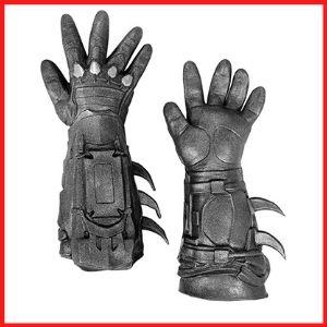 Rubie's men's Arkham City Deluxe Gloves Costume Accessory