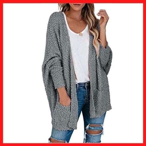 TECREW Women's Fuzzy Popcorn sweaters