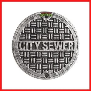 Teenage Mutant Ninja Turtles Sewer Cover Shield