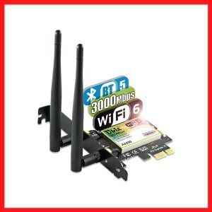 Ubit AX WiFi Card WiFi 6 Card