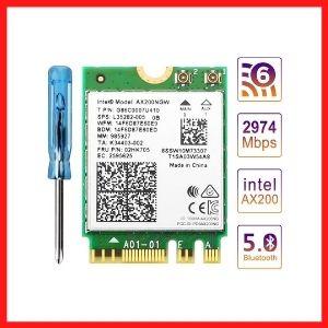 ZEXMTE WiFi 6 AX200 WiFi 6 Card