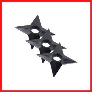 Zaroter Ninja Weapons Naruto Shuriken Plastic Toy