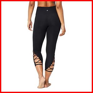 Core 10 high waist crop leggings yoga lattice