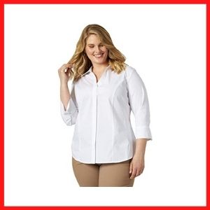 Riders women's Plus Size Woven Shirt