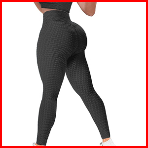 YAMOM butt lifting workout leggings for ladies tummy control